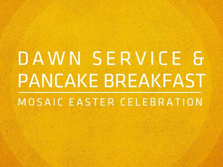 Dawn Service banner