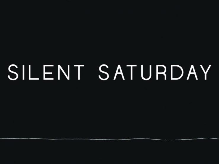 Silent Saturday 2018