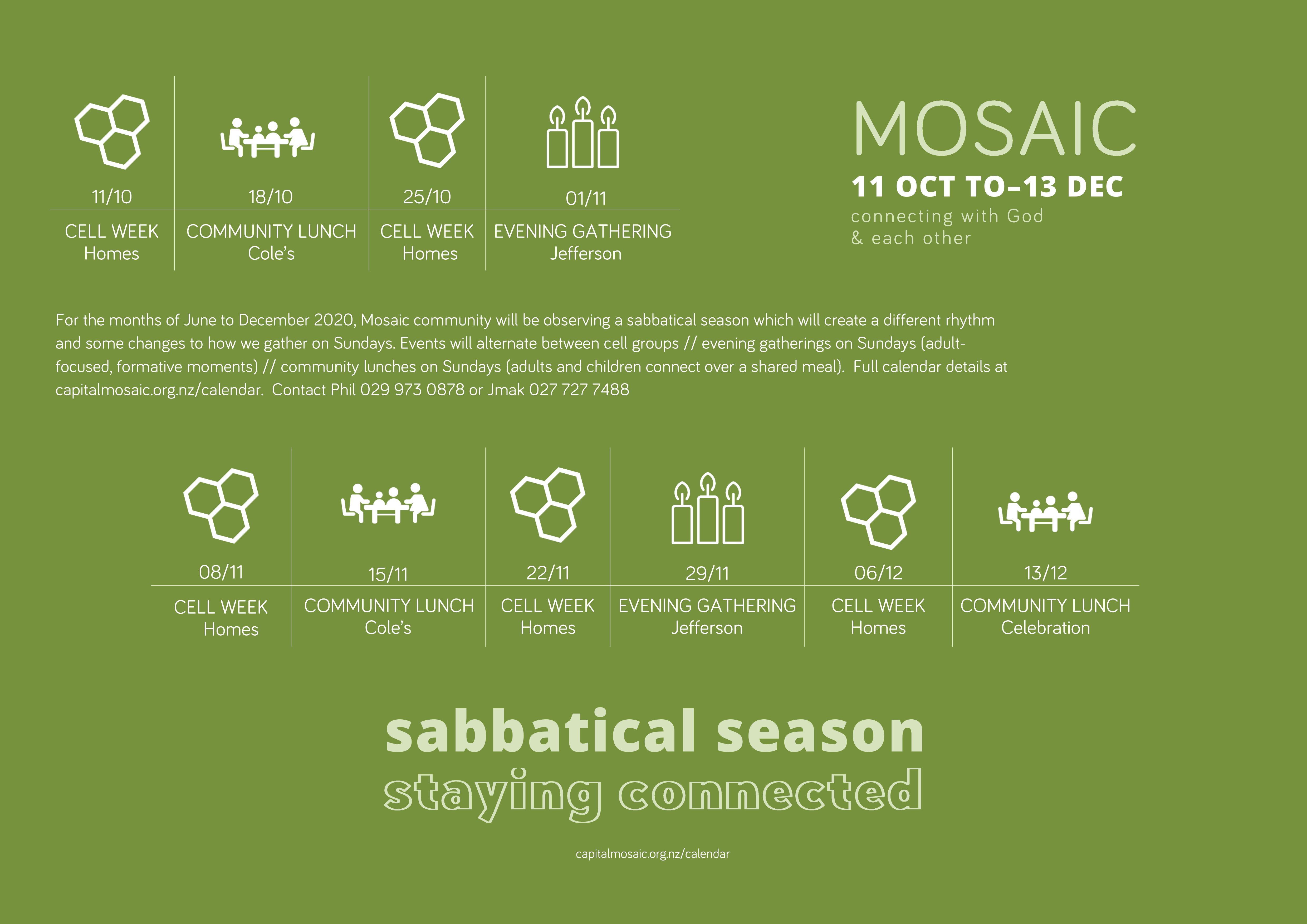 Mosaic-Sabbatical-Calendar-OCT-to-DEC-2020